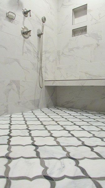 Tile And Installation By Exact Inc Bathroom Shower Walkerzanger Sterlingrow Exacttile Knoxville Tennessee Local