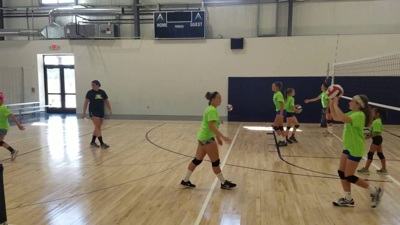 Youth Partner Passing Drills Volleyball Drills Volleyball Training Volleyball Passing Drills