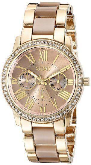Relógios De Pulso · Assistir Bandas · Moda Feminina · Ouro Rosa · XOXO  Women s XO5873 Yellow- And Rose Gold-Tone Watch 40172a8981