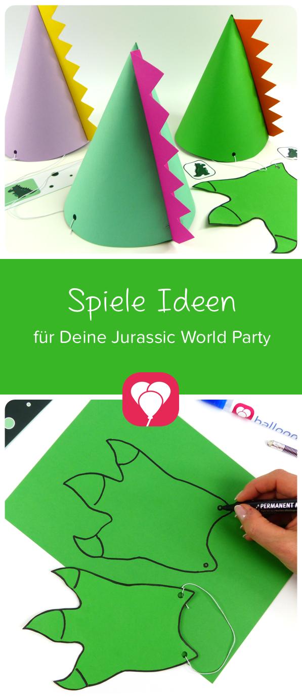 Roarrr! Dino Party Spiele für Deine Dino Party -balloonas Blog #bdayideas