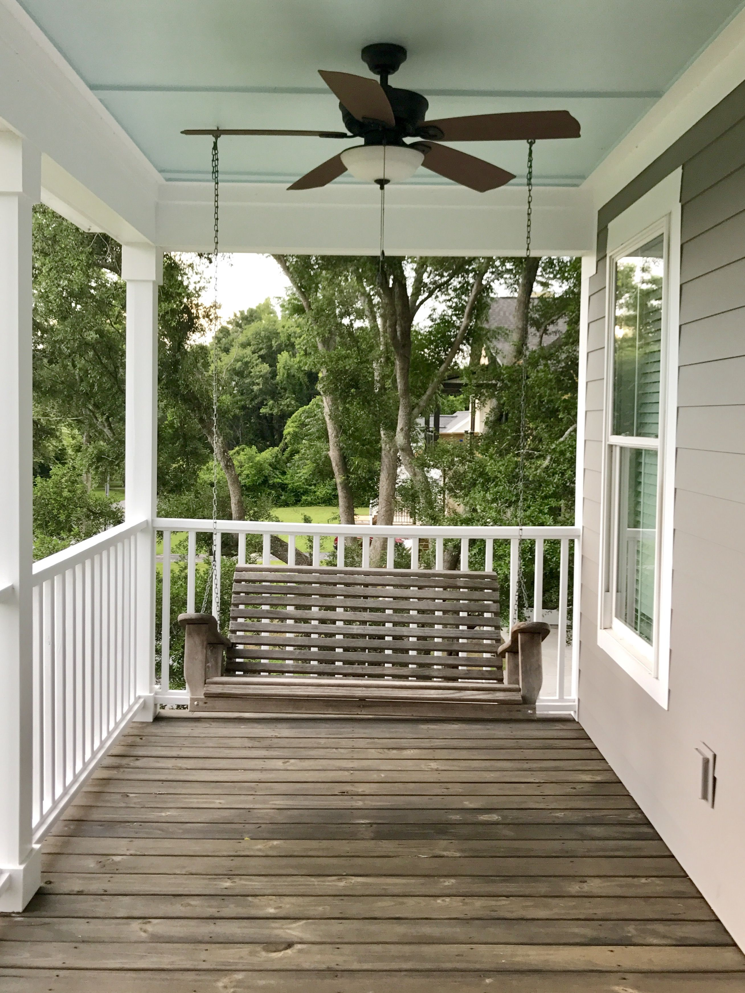 Garden Update June 2018 We Painted The Porch And Started Planking The Garage Patio Inspiration Outdoor Area Rugs Decks Boho Patio