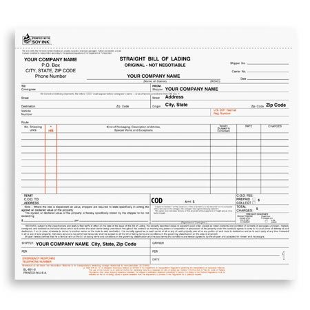CDCC-374, Snap-A-Part Corrective Discipline Form Human Resource - blank bill of lading