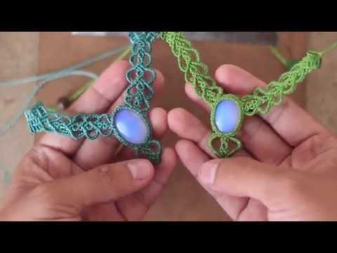 tutorial avanzado! collar en macrame - YouTube http://theartemanual.com/