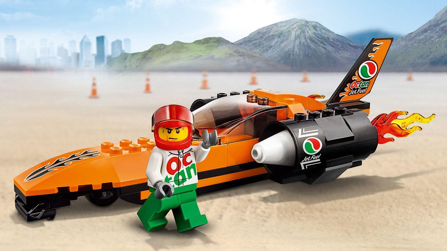 LEGO 60178 City Vehicles Speed Record Car