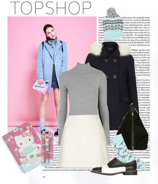 """Get Adorkable with Topshop: Contest Entry"" by lotta-2013 on Polyvore"