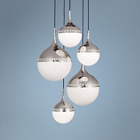 Change The Cord Lengths On This 5 Light Jonathan Adler