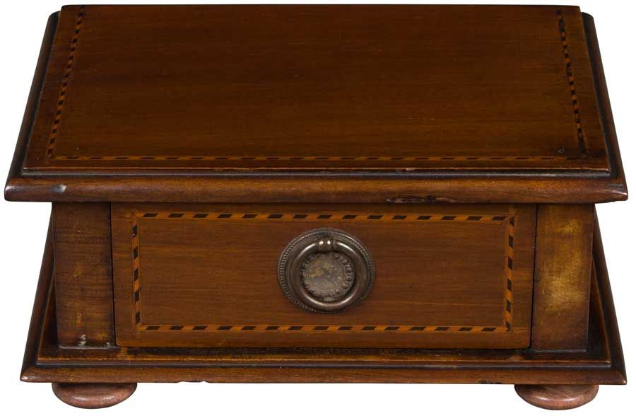 Antique Jewelry Box, Edwardian Period. #edwardianperiod