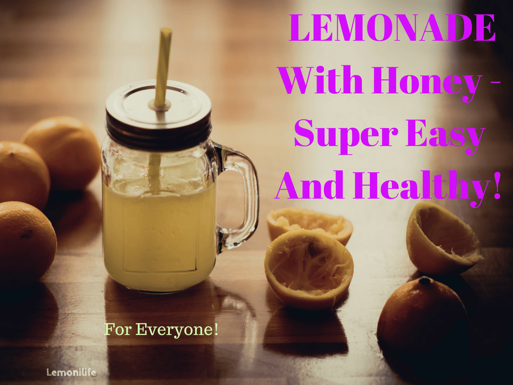 HEALTHY LEMONADE #easylemonaderecipe