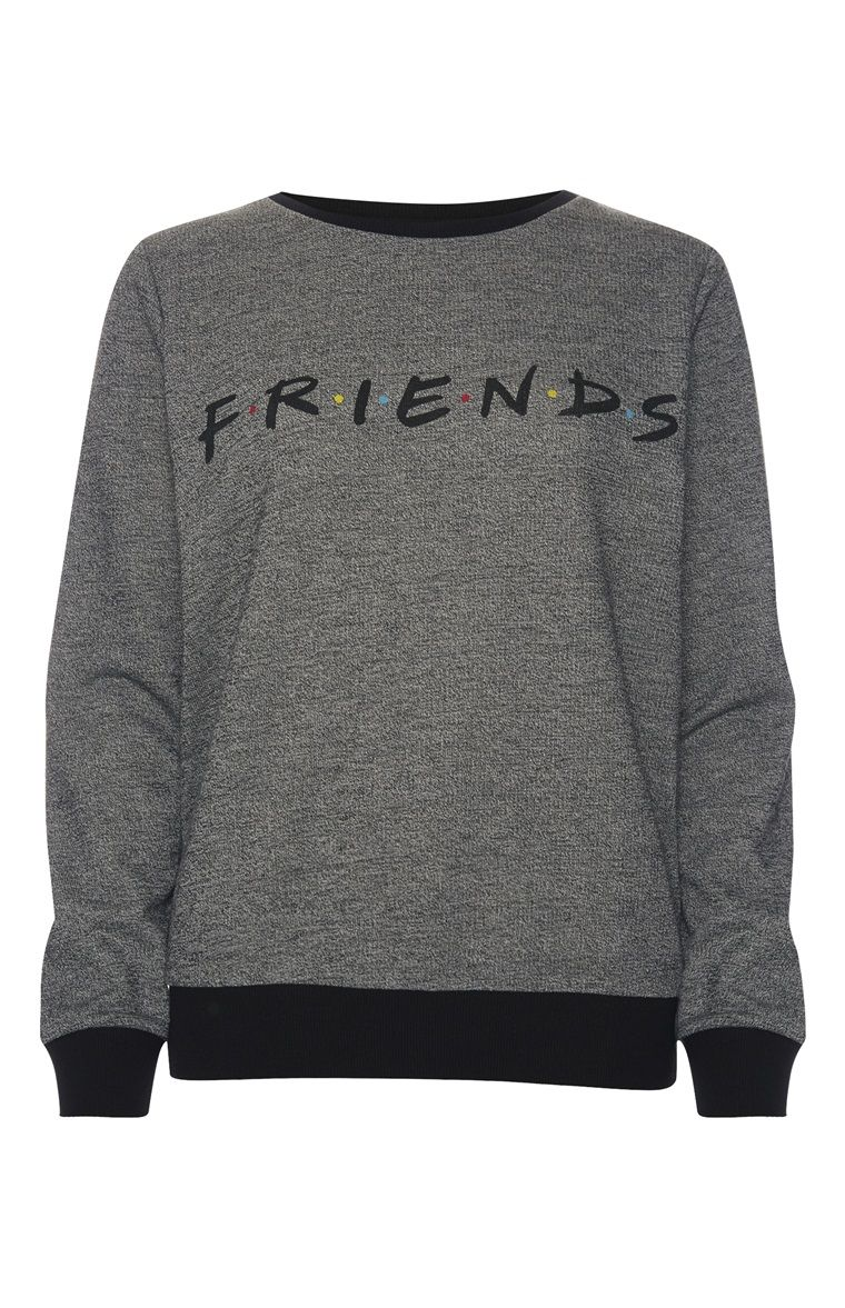 be814c7d3a5b Primark - Grey Friends Jumper
