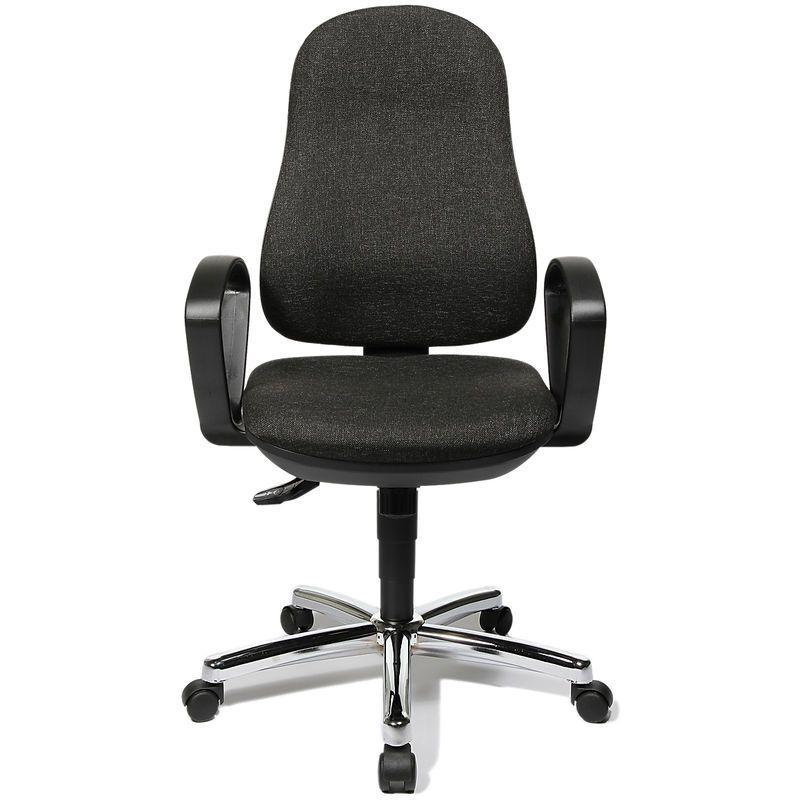 Topstar Siege De Bureau X Pander Bicolore Dossier Nid D Abeilles Noir Noir In 2020 Office Chair Desk Chair Chair