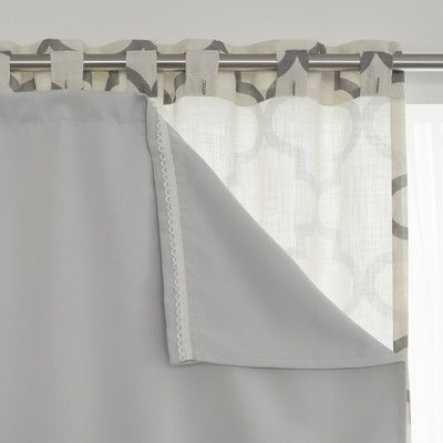 Best Home Fashion Inc Blackout Thermal Curtain Panel Liner Size