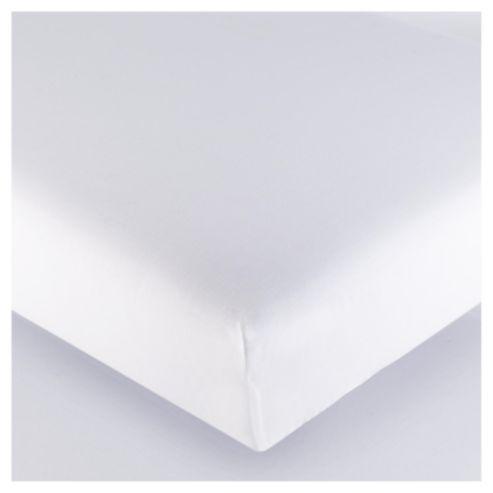 100% Egyptian Cotton Kingsize Fitted Sheet - White