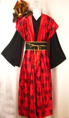 Japanese #Ninja Kabuki #Warrior #Halloween #Costume #Adult L 42 44 Shirt & Japanese #Ninja Kabuki #Warrior #Halloween #Costume #Adult L 42 44 ...