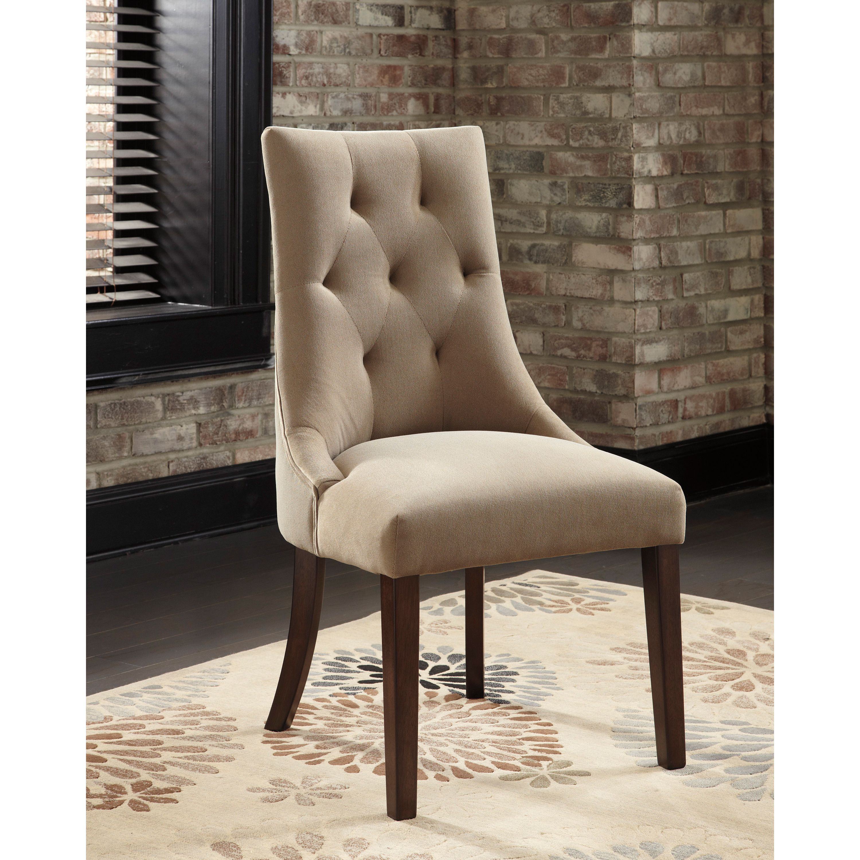 the mestler dining chairs showcase a contemporary frame with