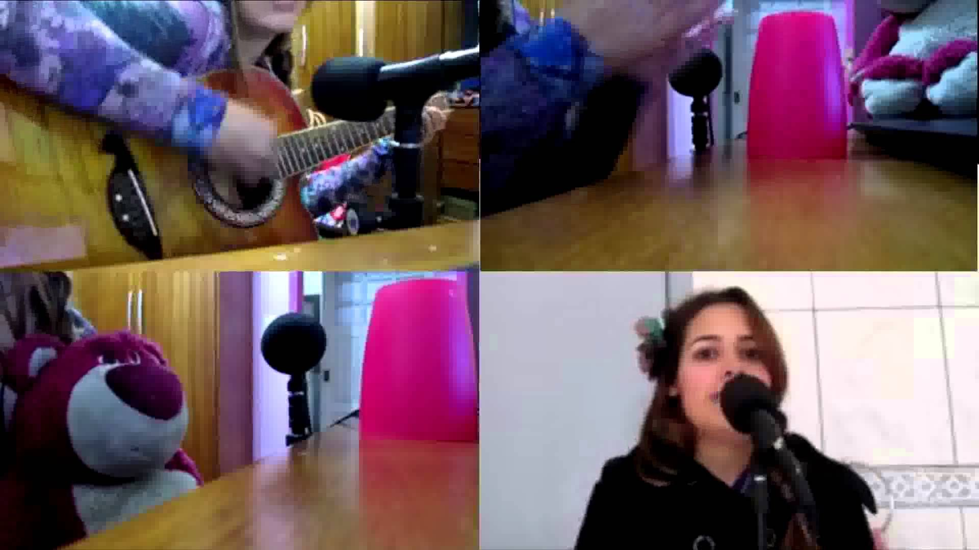 Me singing a Brazilian song mixed with the Cup Song http://youtu.be/ATbQf14USKs