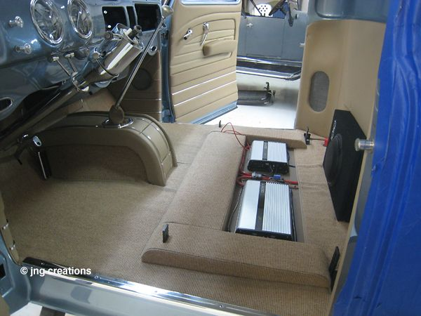 Carpet Complete In The 1949 Chevy Pickup Truck Interiors