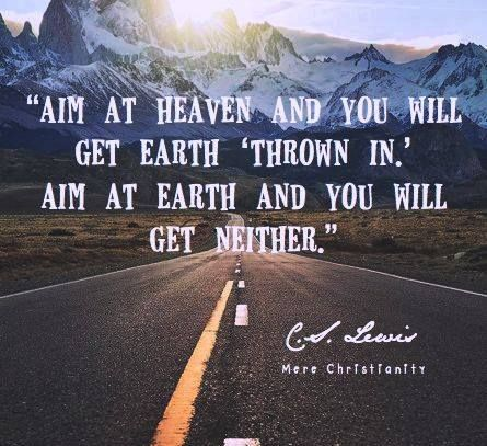 Aim high to reach the sky!!! inspiration quotes
