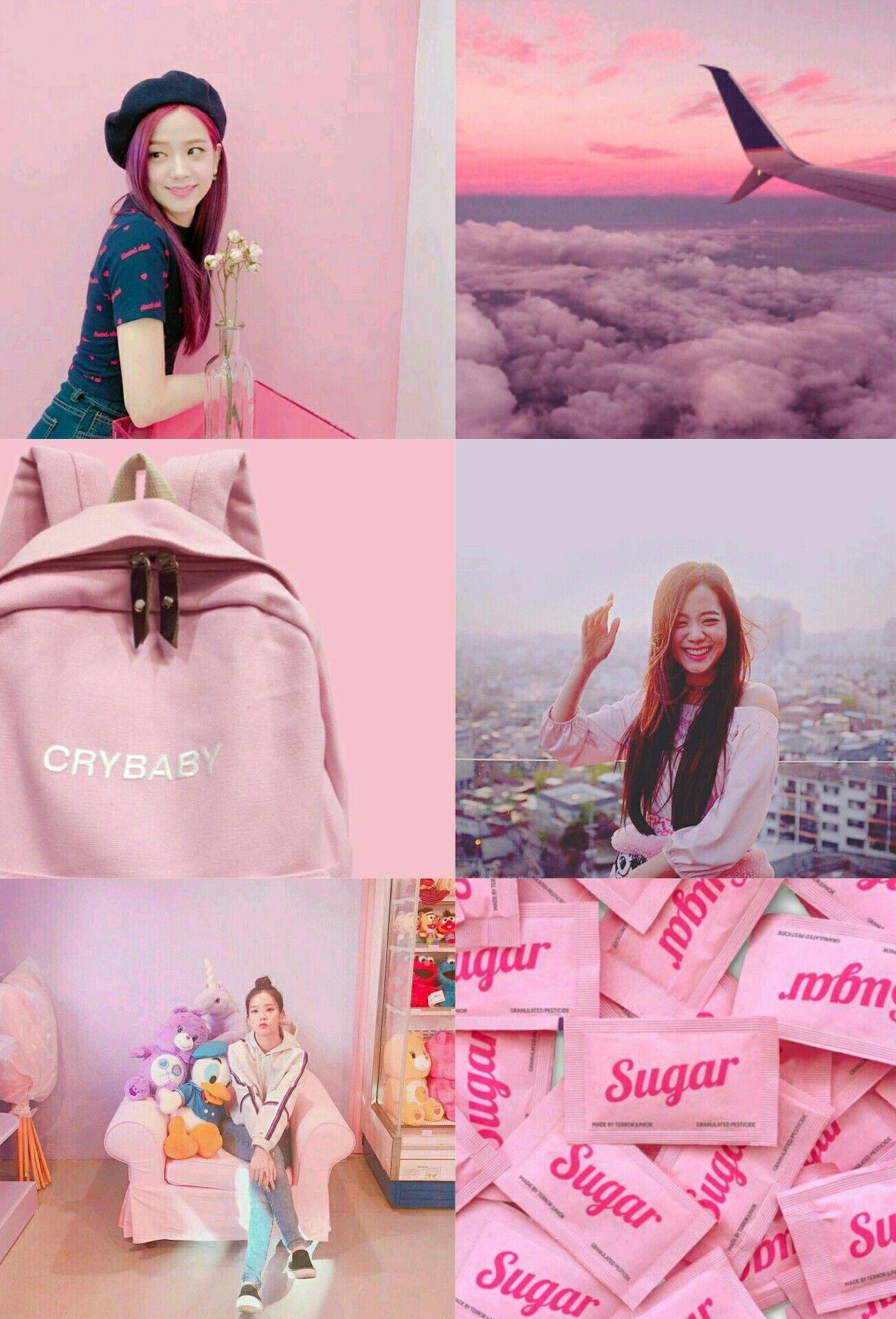 Pink Aesthetic Jisoo Blackpink Pink Aesthetic Aesthetic Wallpapers Pink