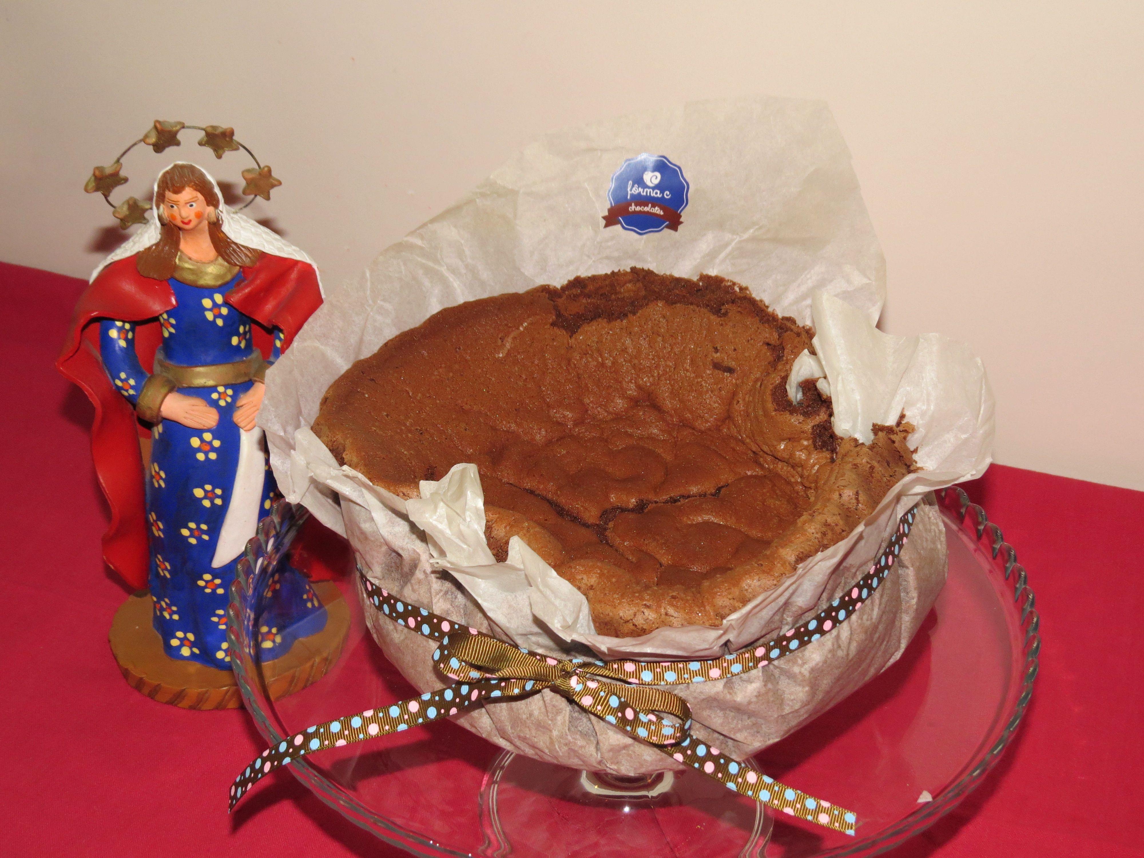Pão de Ló de Chocolate by Fôrma C #pãodeló #chocolate #natal #tradição #forma_c