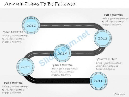 1013 Business Ppt Diagram Annual Plans To Be Followed Powerpoint - powerpoint calendar template