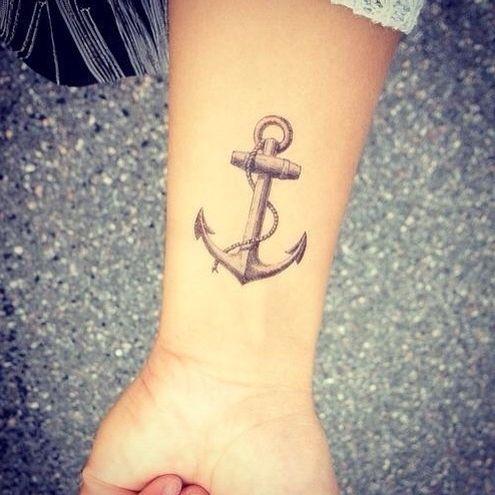arm tattoo anchor