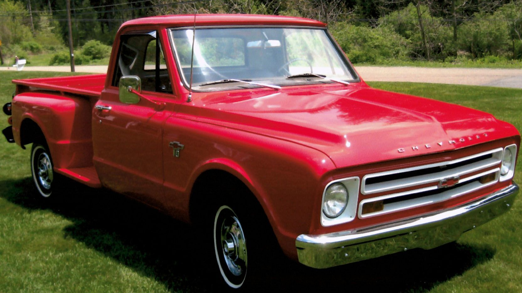 1967 Chevrolet C10 presented as Lot F67 at Harrisburg, PA