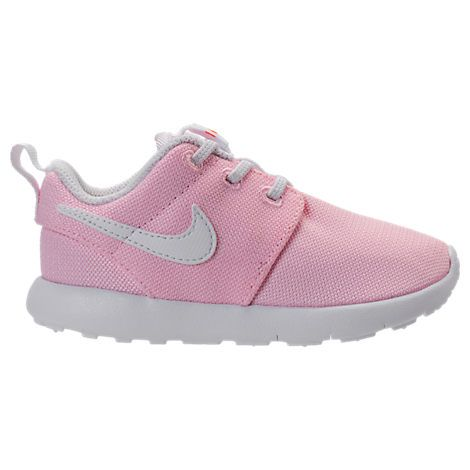 NIKE NIKE GIRLS' TODDLER ROSHE ONE CASUAL SHOES, PINK. #nike #shoes