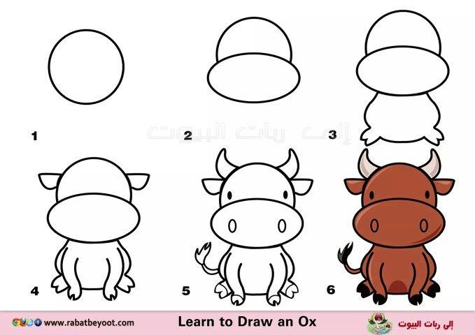 Pin De Ericka Campos En Dibujo Facil Aprender A Dibujar Animales