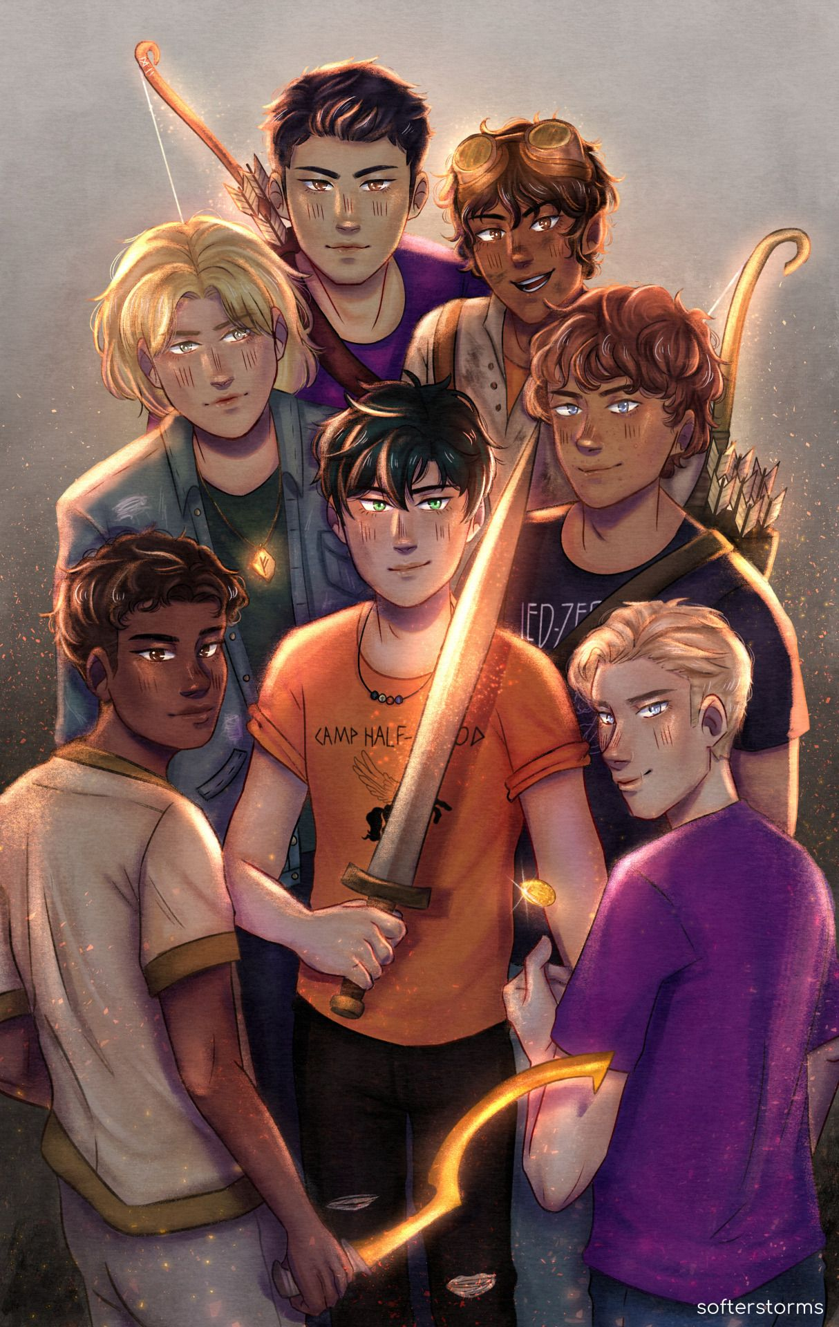 Some Riordanverse Protags I Ve Been Looking At Percy Jackson Wallpaper Percy Jackson Characters Percy Jackson Books