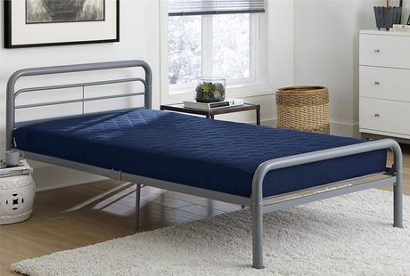 Dhp 6 Twin Quilted Mattress Navy