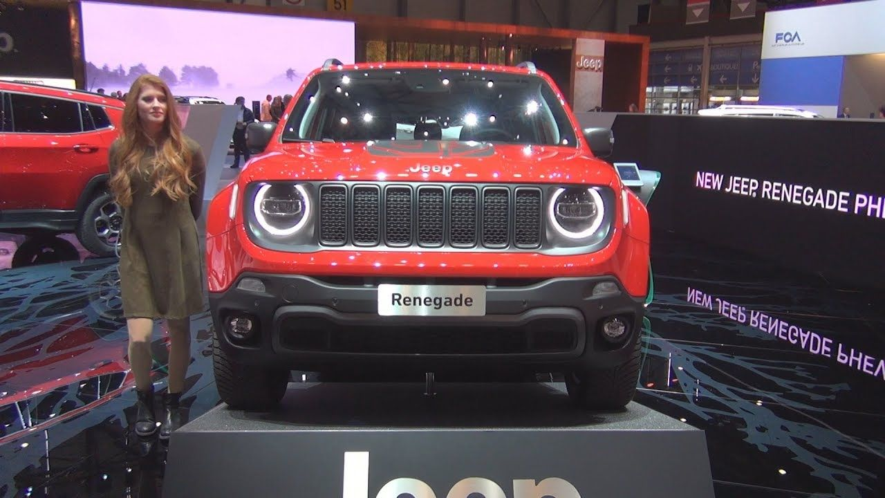 Jeep Renegade Trailhawk Phev 1 3 Turbo Plug In Hybrid Eawd 240 Hp 2019 Exterior And Interior Jeep Renegade Jeep Renegade Trailhawk Jeep