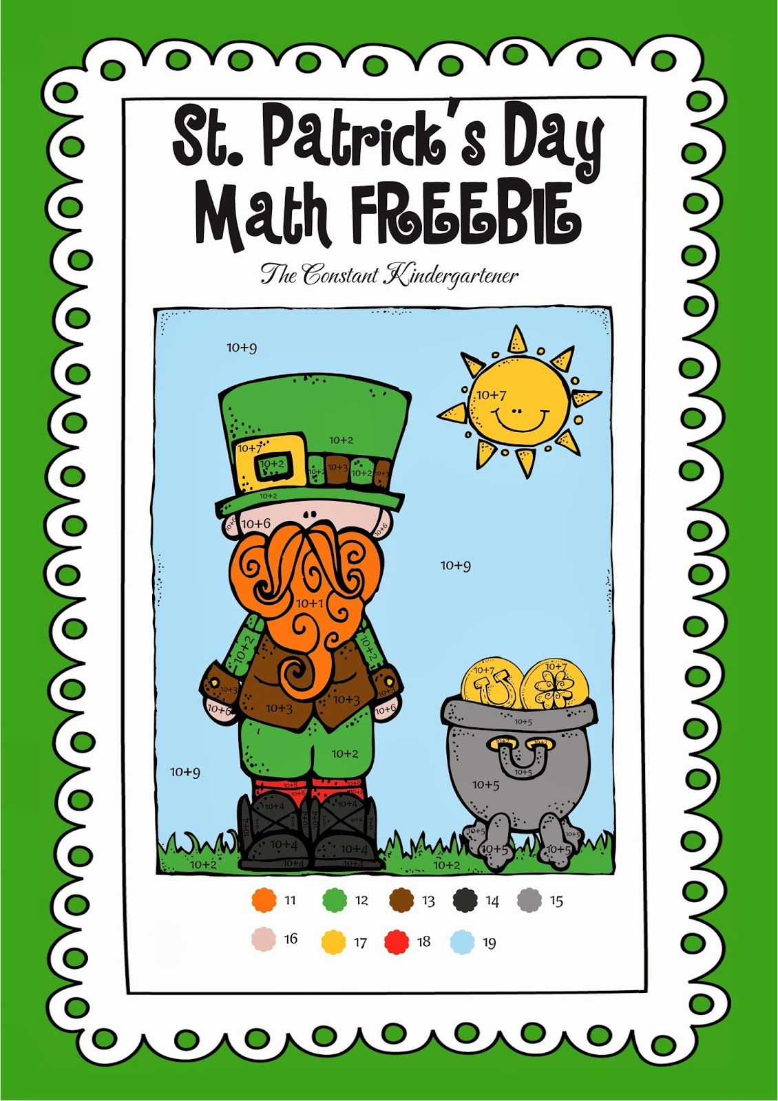 A St Patrick S Freebie And A Giveaway
