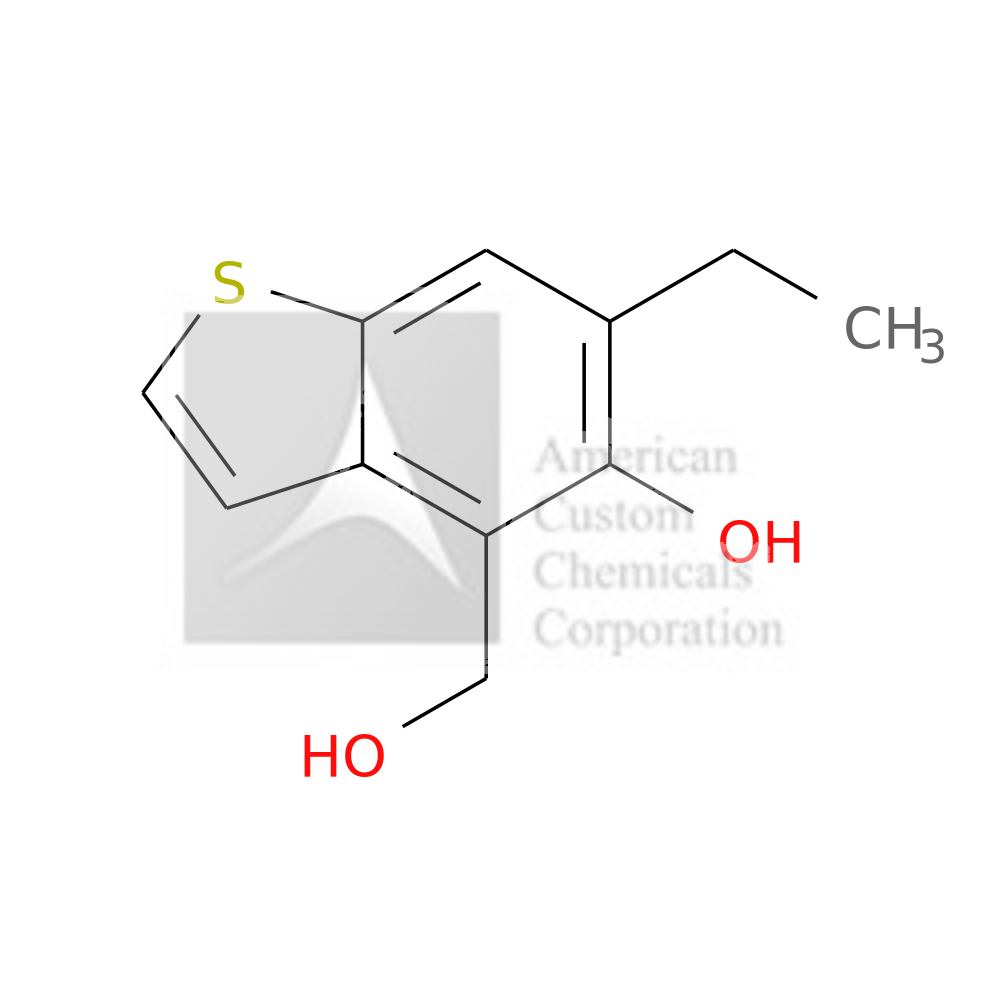 6-ETHYL-5-HYDROXY-4-(HYDROXYMETHYL)BENZOTHIOPHENE is now  available at ACC Corporation