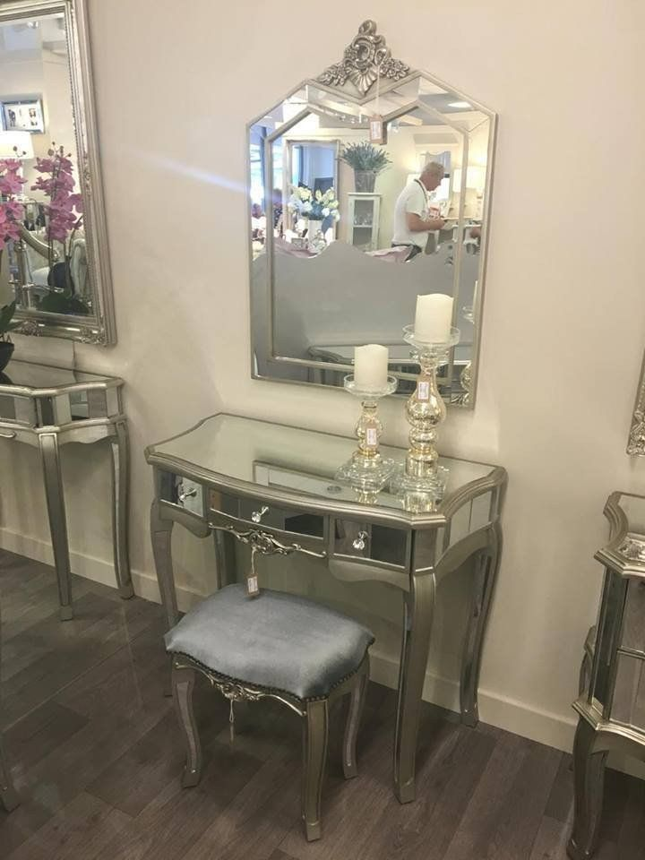 Argente Complete set inc Dressing Table/Stool/Mirror