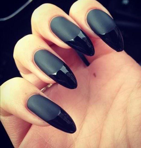45+ Fearless Stiletto Nails | Black stiletto nails, Stilettos and ...
