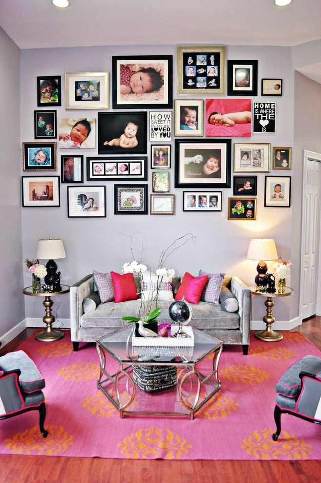 50 cool ideas to display family photos on your walls wall ideasgallery wallframe galleryliving room