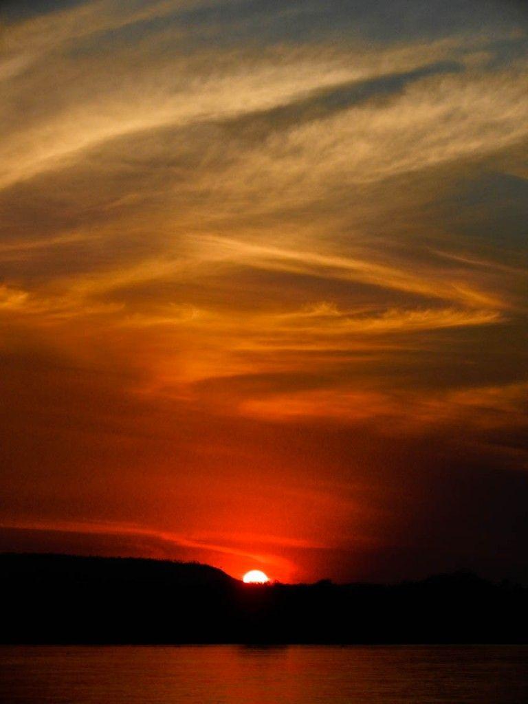 Gorgeous Sunset in Madagascar