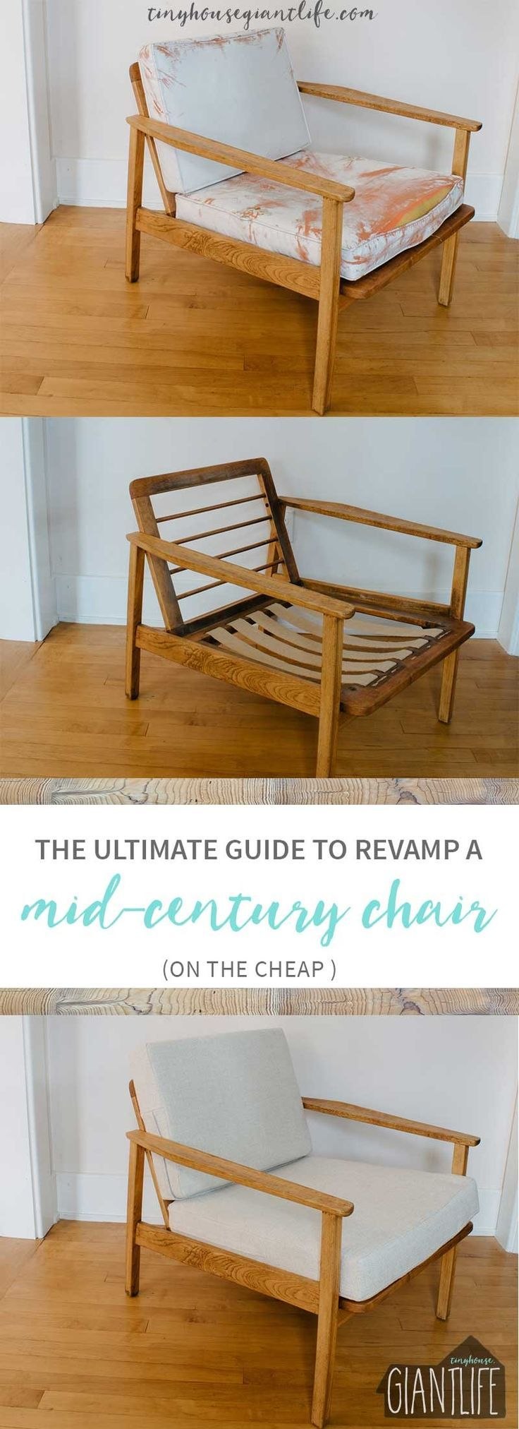 The Ultimate Guide To Revamp A Mid Century Chair On The Cheap