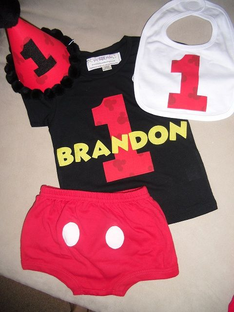 Mickey Birthday Outfit Cute Idea For Minnie Mouse