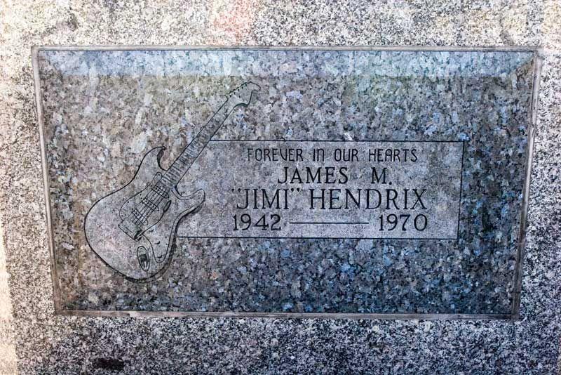 The 27 Club Jimi Hendrix Old Cemeteries Cemetery Art
