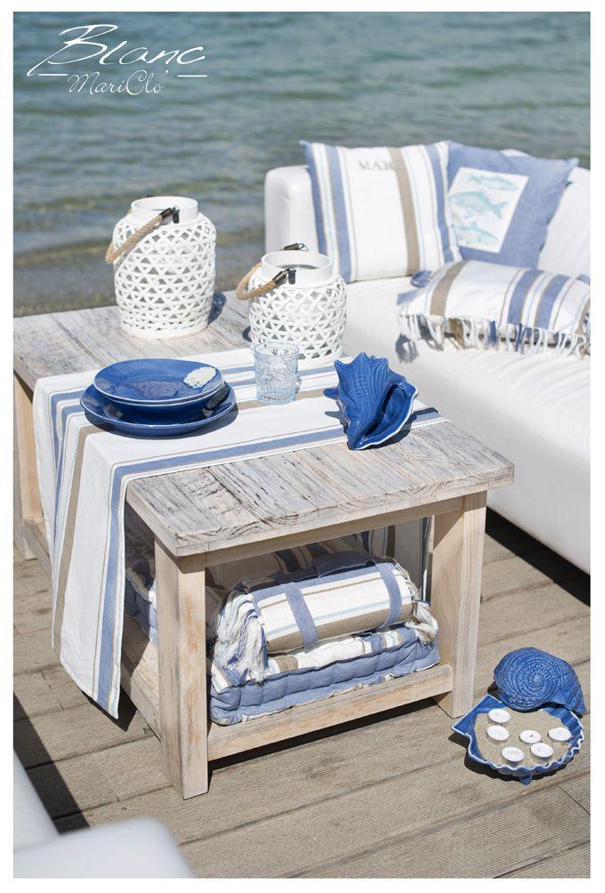 Collezione mare runner e cuscini summer seaside home - Arredo bagno cirie ...