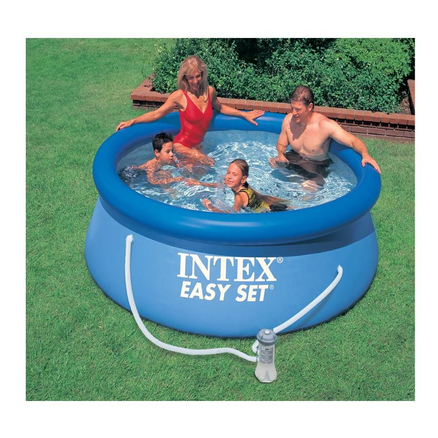 Intex Zwembad Kind Intex 2 4m 8ft Easy Set Pool Set Toys R Us Refill Time 2 5