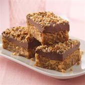 Peanut Butter Crunch Layer Bars