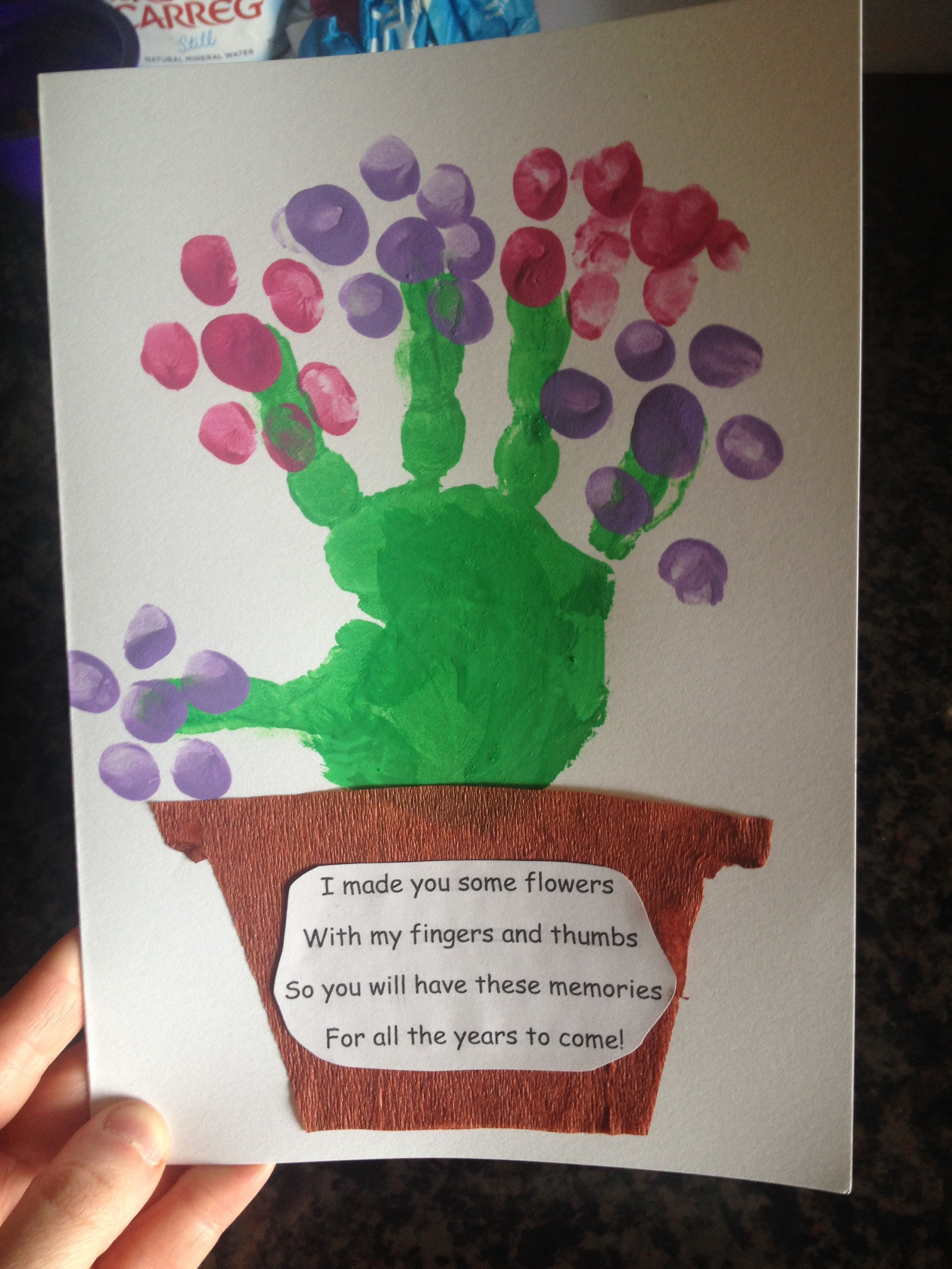 Mother\'s Day card | Cards | Pinterest | EYFS, Cards and School