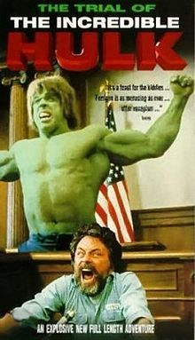 Believing he committed a serious crime as the Hulk, Banner (Bill Bixby) allows himself to suffer the slings and arrows of law and order. Attorney Matt Murdock (Rex Smith), believing something is rotten in the city, takes on Banner as a client, also performing extra-curricular pro bono work as Daredevil. John Rhys-Davies plays Wilson Fisk, the Kingpin.