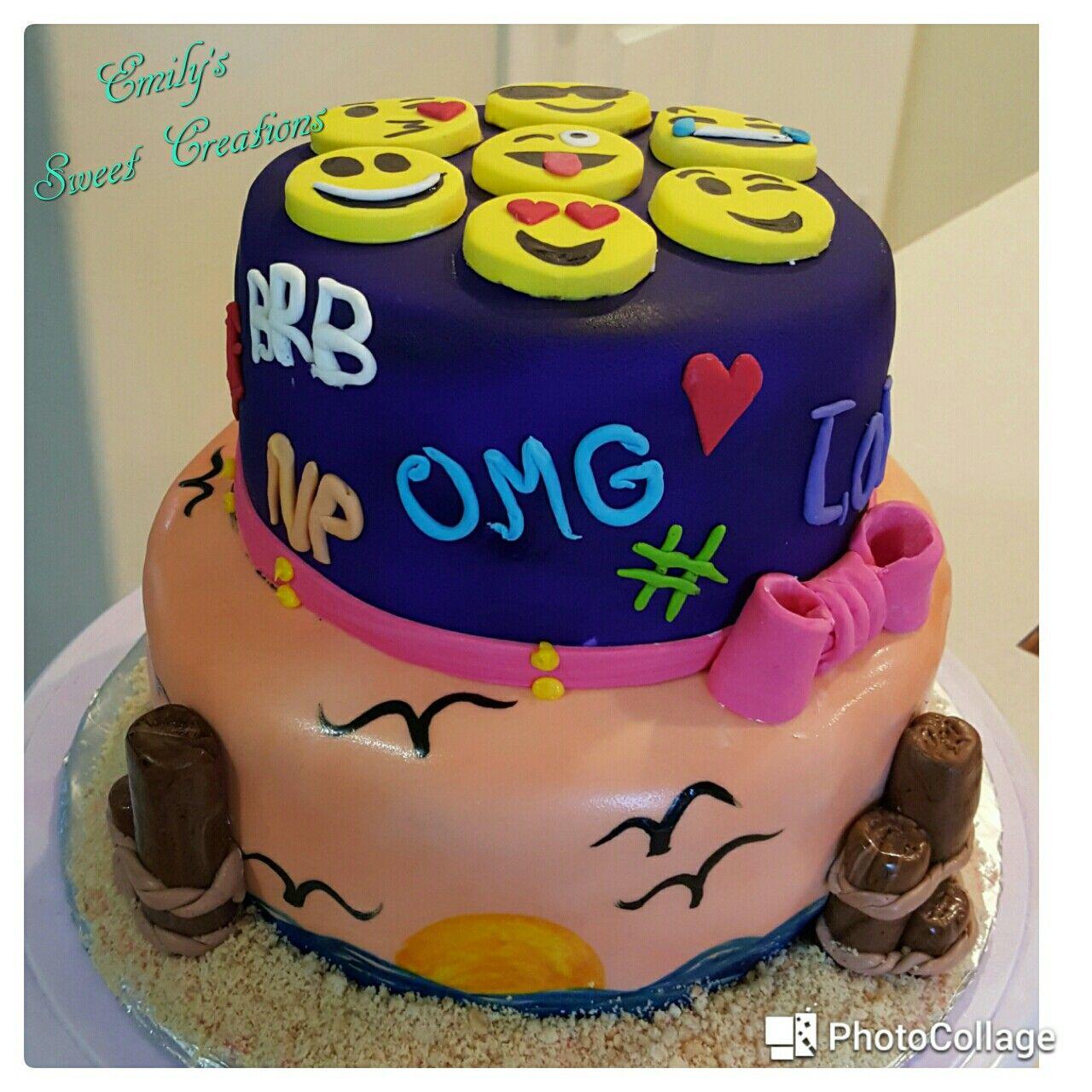 Emoji Cake Emoji cake, Cake, Sweet