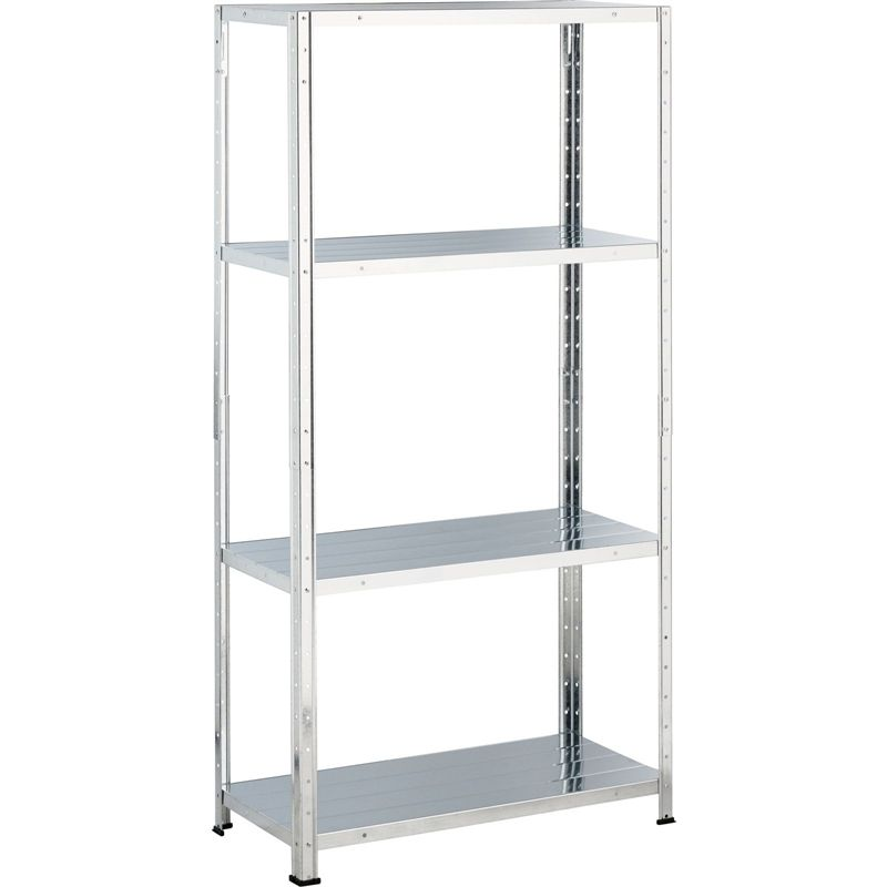 Find Galvanised Steel 4 Shelf Storage Unit At Homebase. Visit Your Local  Store For The