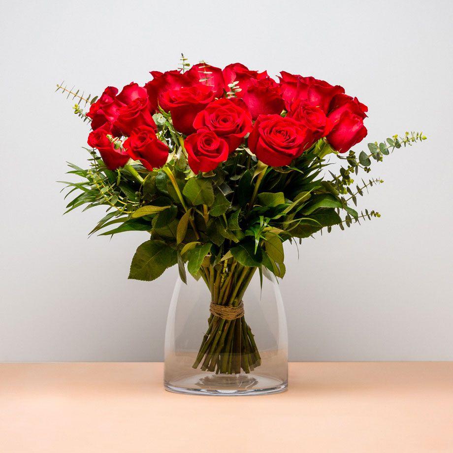 Ramo De 24 Rosas Especial Ramosderosas Rosas Ramosdeflores Flores Un Ramo Compuesto Por 24 Rosas Que Quedará Ramo De Rosas Ramo De Rosas Rojas Ramos De Flores