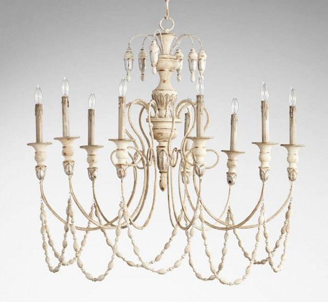 Florine 9 Light Large Wood And Iron Chandelier Iron Chandeliers Chandelier Lighting Chandelier