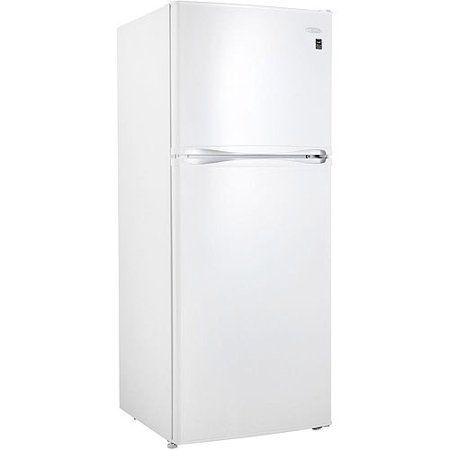 10 Cu Ft Frost Free Refrigerator Walmart Com White Refrigerator Refrigerator Freezer